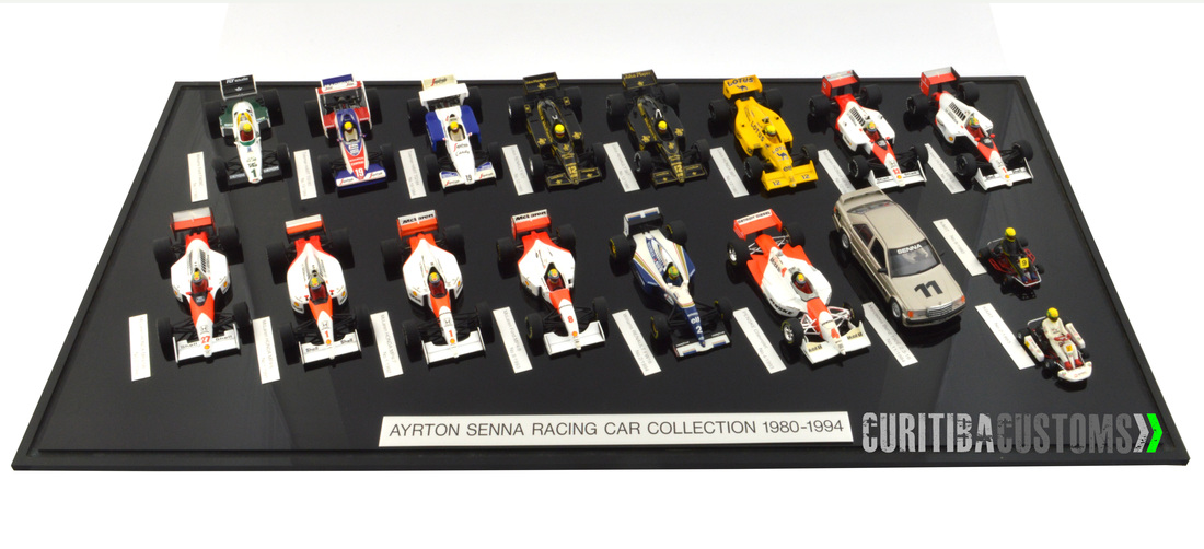 1 43 Minichamps Ayrton Senna Collection Kyosho Catalogs